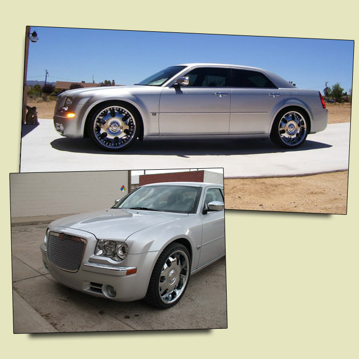 Chrysler 300c 5.7L Saloon in Silver Wedding and Prom Car Hire in Kidderminster, Worcester & Birmingham
